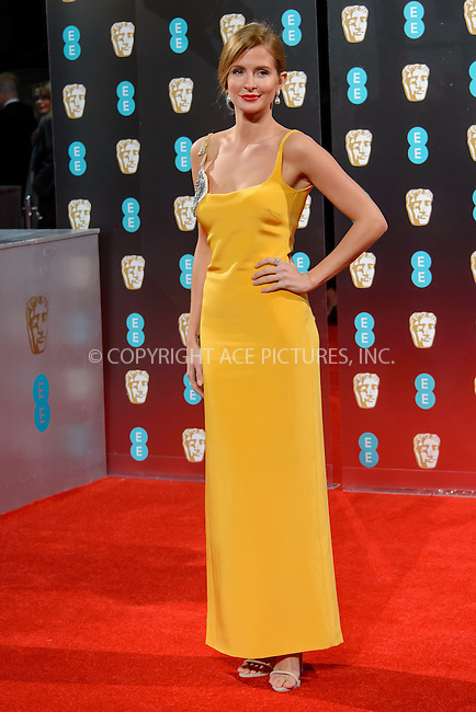 www.acepixs.com<br /> <br /> February 12 2017, London<br /> <br /> Millie Mackintosh arriving at the 70th EE British Academy Film Awards (BAFTA) at the Royal Albert Hall on February 12, 2017 in London, England<br /> <br /> By Line: Famous/ACE Pictures<br /> <br /> <br /> ACE Pictures Inc<br /> Tel: 6467670430<br /> Email: info@acepixs.com<br /> www.acepixs.com