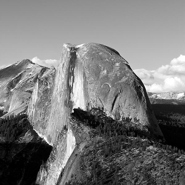 Half Dome at sunset, Yosemite NP