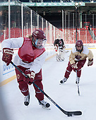 Caroline Ross (BC - 25), Kenzie Kent (BC - 12) - The Boston College Eagles practiced at Fenway on Monday, January 9, 2017, in Boston, Massachusetts.Caroline Ross (BC - 25), Kenzie Kent (BC - 12) - The Boston College Eagles practiced at Fenway on Monday, January 9, 2017, in Boston, Massachusetts.