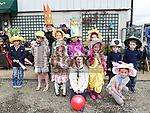 Some of the children who took part in the Easter Bonnet competition in Sage and Stone Duleek. Photo:Colin Bell/pressphotos.ie