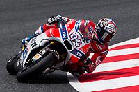 Andrea Dovizioso of Italy and Ducati Team rides during free practice for the MotoGP of Catalunya at Circuit de Catalunya on June 9, 2017 in Montmelo, Spain.(ALTERPHOTOS/Rodrigo Jimenez) (NortePhoto.com) (NortePhoto.com)