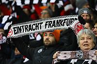 Fans von Eintracht Frankfurt - 07.02.2018: Eintracht Frankfurt vs. 1. FSV Mainz 05, DFB-Pokal Viertelfinale, Commerzbank Arena