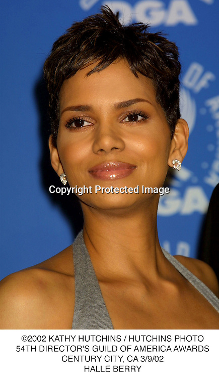 ©2002 KATHY HUTCHINS / HUTCHINS PHOTO.54TH DIRECTOR'S GUILD OF AMERICA AWARDS.CENTURY CITY, CA 3/9/02.HALLE BERRY