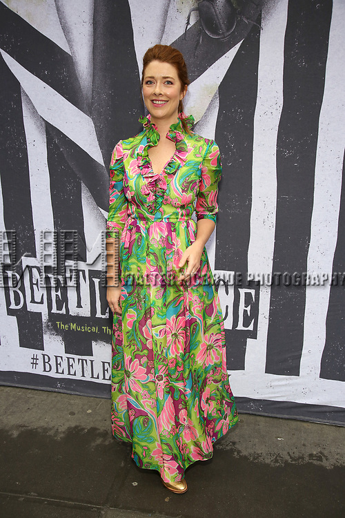 """Nadia Quinn attends the Broadway Opening Night Performance for """"Beetlejuice"""" at The Wintergarden on April 25, 2019  in New York City."""