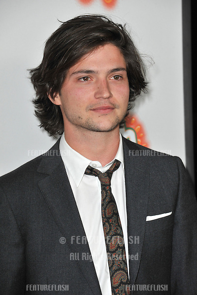 "Thomas McDonell at the Los Angeles premiere of his new movie ""Fun Size"" at the Paramount Theatre, Hollywood..October 25, 2012  Los Angeles, CA.Picture: Paul Smith / Featureflash"