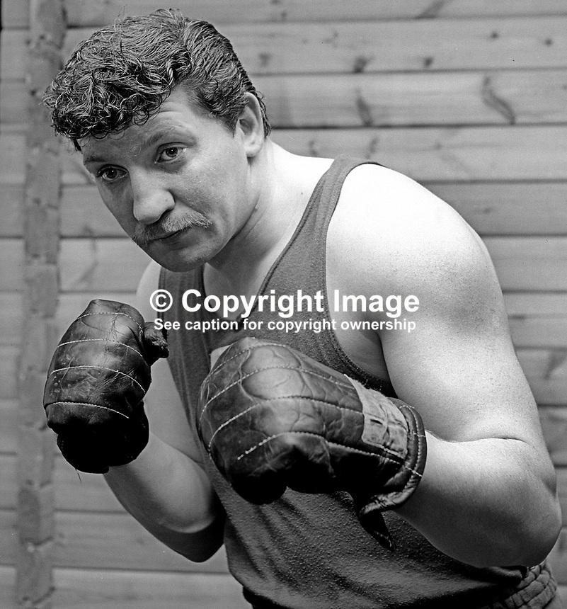 Pat Reid, boxer, amateur, N Ireland, June, 1972, 197206000346<br />