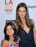 Bailee Madison and Katie Holmes Cruise at FilmDistrict L.a. Premiere of Don't Be Afraid of the Dark held at The Regal Cinemas L.A. Live Stadium 14 in Los Angeles, California on June 26,2011                                                                               © 2011 Hollywood Press Agency