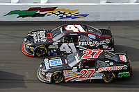 David Ragan (#27) and Blake Koch (#41)