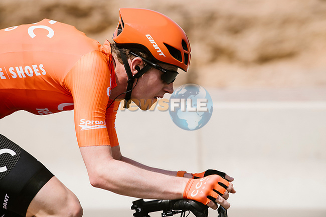 Nathan Van Hooydonck (BEL) CCC Team from the breakaway during Stage 6 of the 10th Tour of Oman 2019, running 135.5km from Al Mouj Muscat to Matrah Corniche, Oman. 21st February 2019.<br /> Picture: ASO/P. Ballet | Cyclefile<br /> All photos usage must carry mandatory copyright credit (© Cyclefile | ASO/P. Ballet)