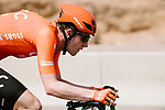 Nathan Van Hooydonck (BEL) CCC Team from the breakaway during Stage 6 of the 10th Tour of Oman 2019, running 135.5km from Al Mouj Muscat to Matrah Corniche, Oman. 21st February 2019.<br /> Picture: ASO/P. Ballet | Cyclefile<br /> All photos usage must carry mandatory copyright credit (&copy; Cyclefile | ASO/P. Ballet)