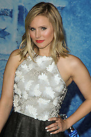 "HOLLYWOOD, CA - NOVEMBER 19: Kristen Bell at the World Premiere Of Walt Disney Animation Studios' ""Frozen"" held at the El Capitan Theatre on November 19, 2013 in Hollywood, California. (Photo by David Acosta/Celebrity Monitor)"