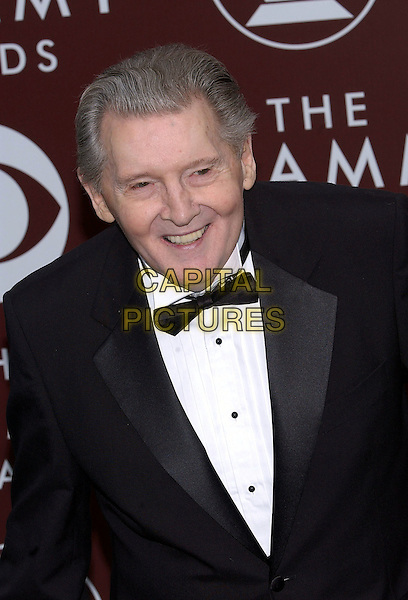 JERRY LEE LEWIS.47th Annual Grammy Awards - Arrivals. Los Angeles, California .February 13th, 2005.Photo Credit: Jacqui Wong/AdMedia.headshot portrait bow tie.www.capitalpictures.com.sales@capitalpictures.com.© Capital Pictures.