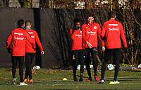 David Abraham (Eintracht Frankfurt) wieder im Training - 14.02.2018: Eintracht Frankfurt Training, Commerzbank Arena