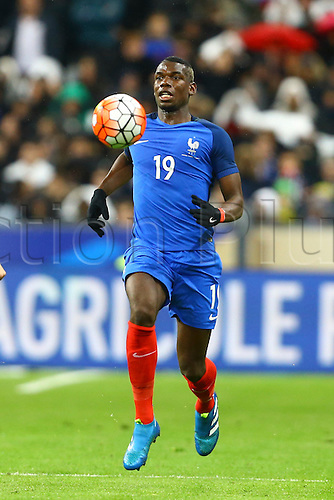 29.03.2016. Stade de France, Paris, France. International football friendly. France versus Russia.  Paul Pogba (France)