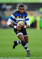 Semesa Rokoduguni of Bath Rugby  in possession. Aviva Premiership match, between Bath Rugby and Saracens on December 3, 2016 at the Recreation Ground in Bath, England. Photo by: Patrick Khachfe / Onside Images