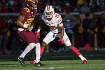 Wisconsin Badgers defensive back Derrick Tindal (25) defends during an NCAA College Big Ten Conference football game against the Minnesota Golden Gophers Saturday, November 25, 2017, in Minneapolis, Minnesota. The Badgers won 31-0. (Photo by David Stluka)