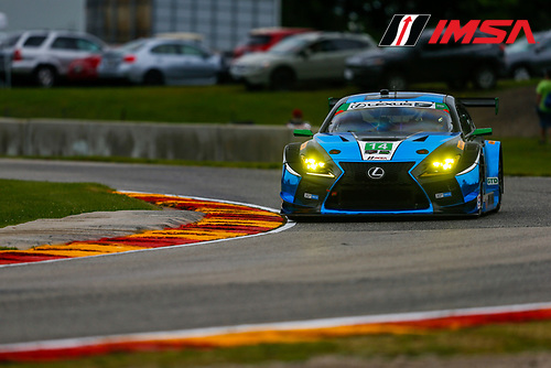 IMSA WeatherTech SportsCar Championship<br /> Continental Tire Road Race Showcase<br /> Road America, Elkhart Lake, WI USA<br /> Friday 4 August 2017<br /> 14, Lexus, Lexus RCF GT3, GTD, Scott Pruett, Sage Karam<br /> World Copyright: Jake Galstad<br /> LAT Images