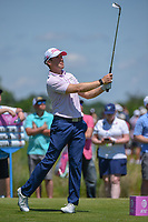 Tyler Duncan (USA) watches his tee shot on 8 during round 4 of the AT&T Byron Nelson, Trinity Forest Golf Club, Dallas, Texas, USA. 5/12/2019.<br /> Picture: Golffile   Ken Murray<br /> <br /> <br /> All photo usage must carry mandatory copyright credit (© Golffile   Ken Murray)