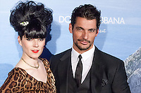 David Gandy and Bimba Bose attend the Dolce & Gabbana Mediterranean Summer Cocktail in Madrid