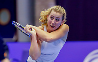 Rotterdam, Netherlands, December 13, 2017, Topsportcentrum, Ned. Loterij NK Tennis, Nikki Luttikhuis (NED)<br /> Photo: Tennisimages/Henk Koster