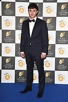 LONDON, UK. March 19, 2019: Aedan Duckworth arriving for the Royal Television Society Awards 2019 at the Grosvenor House Hotel, London.<br /> Picture: Steve Vas/Featureflash