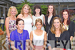 FASHION SHOW: Enjoying a great time at the Charity Fashion Show in aid of the Suicidal and Mental Health in Kerry at the Carlton hotel, Tralee on Thursday seated l-r: Sarah Clear, Aideen Feely and Clodagh Hurley. Back l-r: Fionnuala Doyle, Karina Clifford, Mary Lynch, Sorcha Ryan and Tracy Lacey.