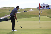Keegan Bradley (USA) putts onto the 3rd green during Friday's Round 2 of the 117th U.S. Open Championship 2017 held at Erin Hills, Erin, Wisconsin, USA. 16th June 2017.<br /> Picture: Eoin Clarke | Golffile<br /> <br /> <br /> All photos usage must carry mandatory copyright credit (&copy; Golffile | Eoin Clarke)