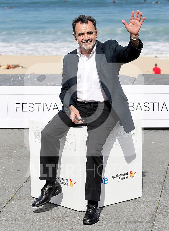 Film director Carlos Sorin attends the photocall of 'Dias de pesca' during the 60th San Sebastian Donostia International Film Festival - Zinemaldia.September 27,2012.(ALTERPHOTOS/ALFAQUI/Acero)