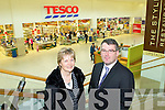 Manor West Retail Park Derek Rusk Maria Kennedy, Esprit pictured with Derek Rusk of Manor West Retail Park on Friday in.the shopping centr