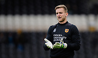 Hull City's George Long during the pre-match warm-up<br /> <br /> Photographer Chris Vaughan/CameraSport<br /> <br /> The EFL Sky Bet Championship - Hull City v Sheffield Wednesday - Saturday 12th January 2019 - KCOM Stadium - Hull<br /> <br /> World Copyright © 2019 CameraSport. All rights reserved. 43 Linden Ave. Countesthorpe. Leicester. England. LE8 5PG - Tel: +44 (0) 116 277 4147 - admin@camerasport.com - www.camerasport.com