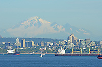 Mt. Baker, from our Alaska Inside Passage Cruise