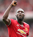 Manchester United's Romelu Lukaku celebrates scoring his sides second goal during the premier league match at Old Trafford Stadium, Manchester. Picture date 13th August 2017. Picture credit should read: David Klein/Sportimage