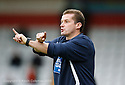 Stevenage manager Graham Westley during the Blue Square Premier match between Stevenage Borough and Salisbury City at the Lamex Stadium, Broadhall Way, Stevenage on 17th October, 2009.© Kevin Coleman 2009 .