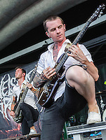 Chelsea Grin performs at the Vans Warped Tour in Atlanta, GA on July 26, 2012.  Copyright © 2012 by HIGH ISO Music, LLC.