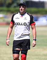 Ruan Botha during the cell c sharks pre season training session at  Growthpoint Kings Park ,22,01,2018 Photo by Steve Haag)