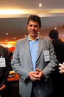 SAO PAULO, 20 DE JULHO DE 2012. CAMPANHA FERNANDO HADDAD. O candidato a prefeitura de São Paulo, Fernando Haddad, durante palestra na Camara Portuguesa em São Paulo. FOTO: ADRIANA SPACA: BRAZIL PHOTO PRESS