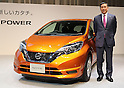 Nissan introduces compact vehicle Note e-power
