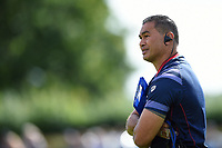 Bristol Rugby Head Coach Pat Lam looks on. Pre-season friendly match, between Bristol Rugby and Bath Rugby on August 12, 2017 at the Cribbs Causeway Ground in Bristol, England. Photo by: Patrick Khachfe / Onside Images