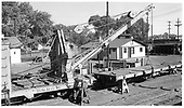 D&amp;RGW derrick OP.<br /> D&amp;RGW  Alamosa, CO  6/12/1955
