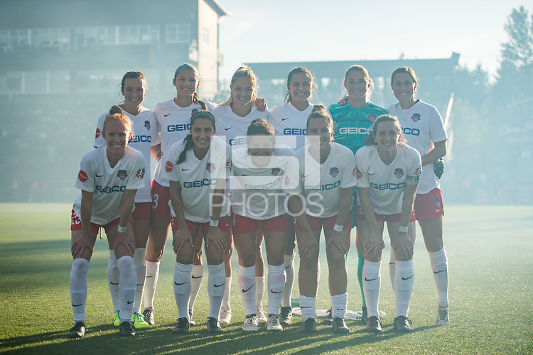 Tacoma, WA - Sunday, June 15, 2019: Reign FC vs Washington Spirit at Cheney Stadium.