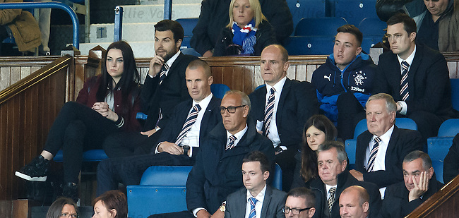 Amy MacDonald with her injured boyfriend Richard Foster watching the game from the directors box