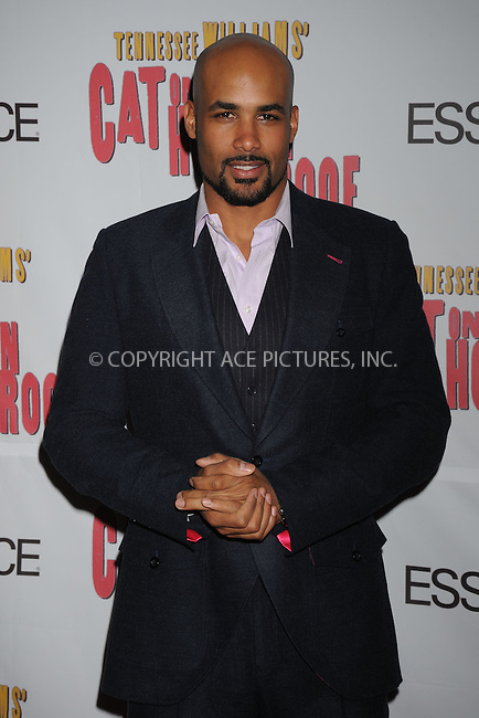 WWW.ACEPIXS.COM . . . . .....March 6, 2008. New York City.....Actor Boris Kodjoe attends the 'Cat on a Hot Tin Roof' opening night after party at Strata...  ....Please byline: Kristin Callahan - ACEPIXS.COM..... *** ***..Ace Pictures, Inc:  ..Philip Vaughan (646) 769 0430..e-mail: info@acepixs.com..web: http://www.acepixs.com