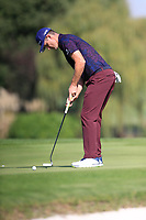 Justin Rose (ENG) on the 2nd green during the 2nd round of the WGC HSBC Champions, Sheshan Golf Club, Shanghai, China. 01/11/2019.<br /> Picture Fran Caffrey / Golffile.ie<br /> <br /> All photo usage must carry mandatory copyright credit (© Golffile   Fran Caffrey)