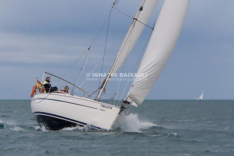 ESP8314.VERONA SEGONA.PABLO VAÑO. -IV edición de la regata 30 Millas A2, III Memorial Luís Sáiz - 31/1/2009 C.N. Port Saplaya, Alboraya, Valencia, Comunidad Valenciana, España