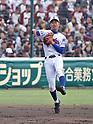Shohei Shimatani (),<br /> MARCH 25, 2017 - Baseball :<br /> 89th National High School Baseball Invitational Tournament first round game between Ube Kojo 0-11 Osaka Toin at Koshien Stadium in Hyogo, Japan. (Photo by BFP/AFLO)