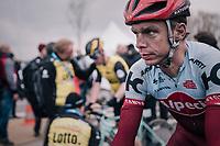 Tony Martin (GER/Katusha-Alpecin) post-finish<br /> <br /> 102nd Ronde van Vlaanderen 2018 (1.UWT)<br /> Antwerpen - Oudenaarde (BEL): 265km