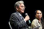 """Taiwan Ambassador in Spain, Simón Shen Yeaw Ko during the theater play of """"King Lear"""" at Teatros del Canal in Madrid. May 27, 2016. (ALTERPHOTOS/Borja B.Hojas)"""