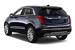 Car pictures of rear three quarter view of 2017 Cadillac XT5 AWD-Platinum 5 Door SUV Angular Rear