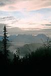 View From Mt. McKinley Princess Wilderness Lodge In Denali State Park, Alaska