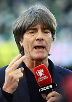 Bundestrainer Joachim Loew (Deutschland Germany) - 09.09.2019: Nordirland vs. Deutschland, Windsor Park Belfast, EM-Qualifikation DISCLAIMER: DFB regulations prohibit any use of photographs as image sequences and/or quasi-video.